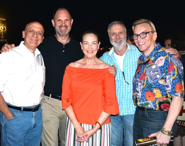 Tom Viola, Michael Dvorchak, Harriet Harris, Jim McLaughlin and Scott Barnes