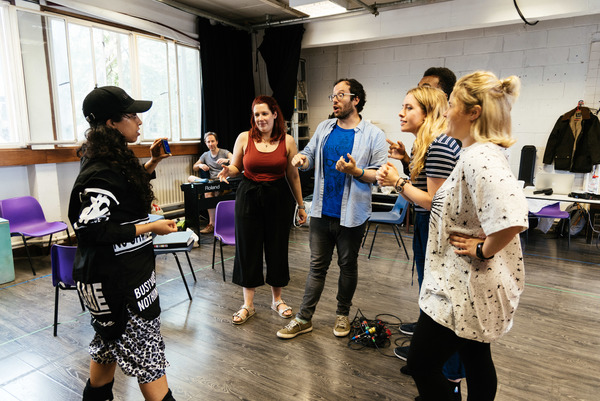 Photo Flash: Inside Rehearsal For WASTED at Southwark Playhouse