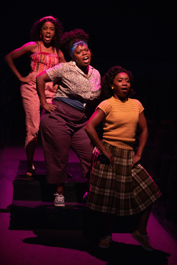 Zuri Washington as Ronnette, Zonya Love as Crystal and Destinee Rea as Chiffon