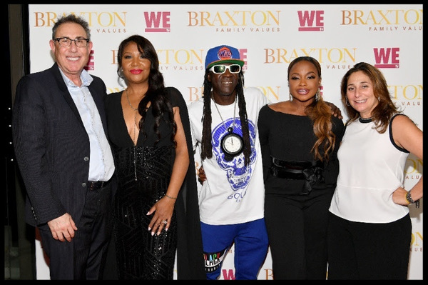 Photo Flash: See Ice-T, Traci Braxton and More at the BRAXTON FAMILY VALUES Premiere Party