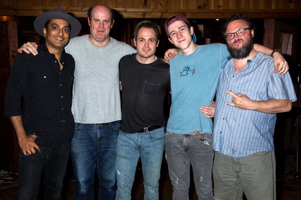 Manu Narayan, Paul Whitty, Mitchell Jarvis, Sawyer Nunes, Jay Klaitz
