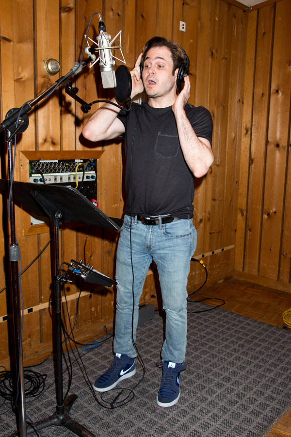 Photo Coverage: GETTIN' THE BAND BACK TOGETHER Hits the Recording Studio!