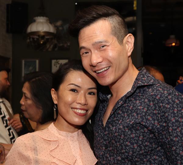 Vanessa Kai and James Seol