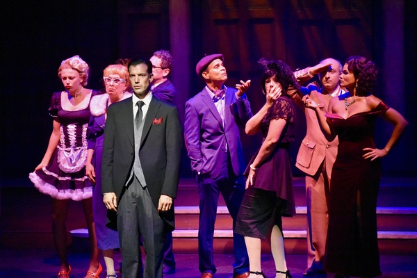 Photo Flash: Hunter Foster Directs CLUE: ON STAGE at Cape Playhouse