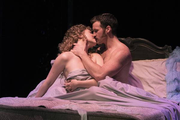 Steffanie Leigh (Clara) and Claybourne Elder (Giorgio) in Passion