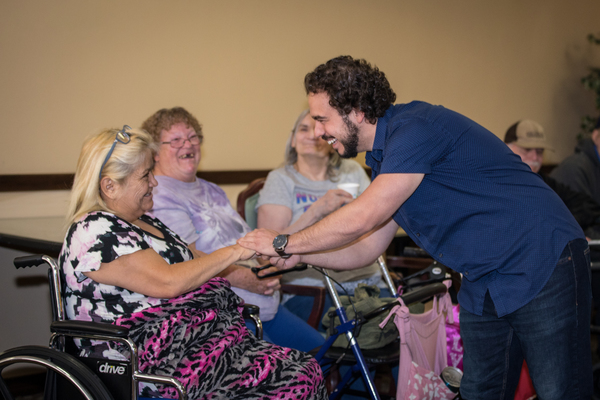 Photo Flash: LES MISERABLES National Tour Cast Performs with Sing For Your Seniors in Denver