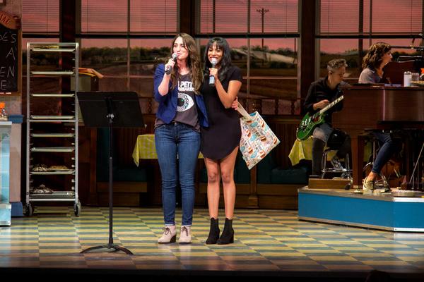 Photo Coverage: Sara Bareilles and Nicolette Robinson Host WAITRESS Cast Album Karaoke