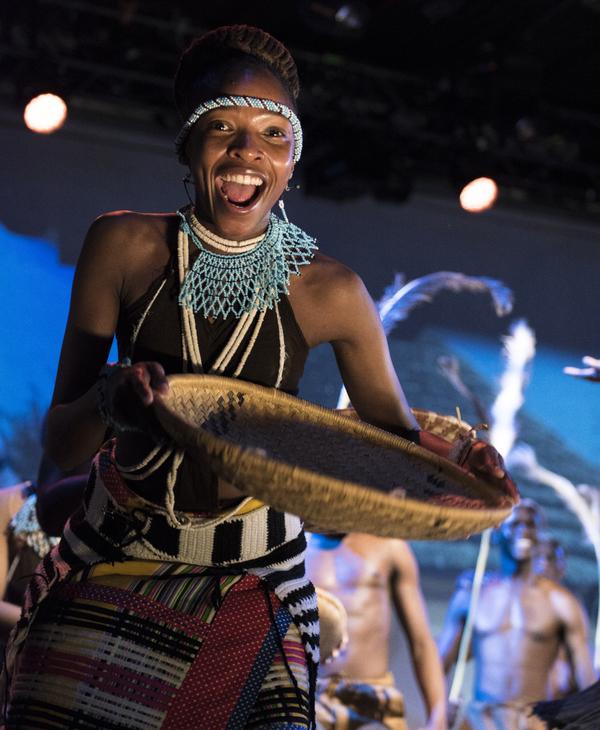 Photo Flash: First Look at PULA! Botswana on Broadway!