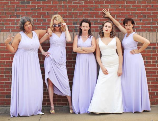 Angie Schworer, Tauren Hagans, Aleisha Force, Marci Reid and Jane Bushway Photo