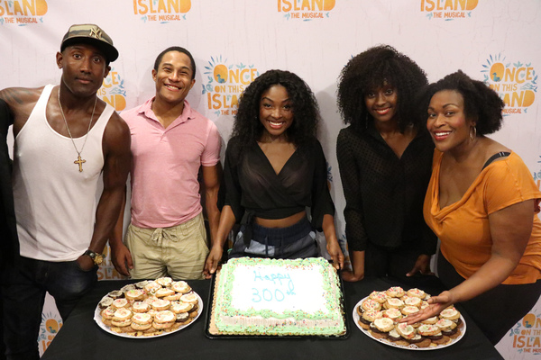Quentin Earl Darrington, Daniel Yearwood, Loren Lott, Courtnee Carter, and Cicily Daniels