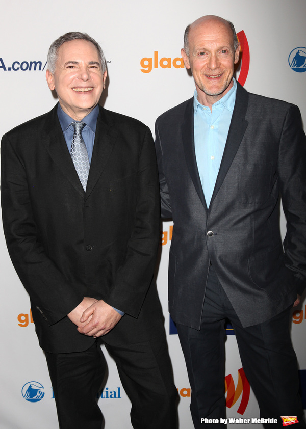 Craig Zadan and Neil Meron attending the 22nd Annual GLAAD Media Awards in New York City.
