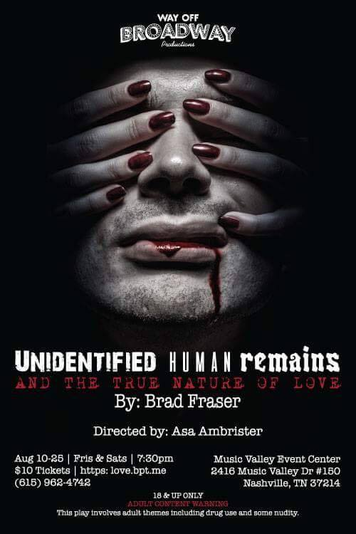 BWW Review: Way Off Broadway Productions' Chilling and Stunning UNIDENTIFIED HUMAN REMAINS...