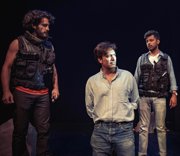 Nima Jafari, Ted Monte, Ronak Gandhi Photo