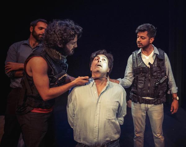 Bobak Cyrus Bakhtiari, Nima Jafari, Ted Monte, Ronak Gandhi  Photo