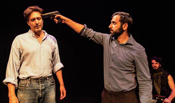 Ted Monte, Bobak Cyrus Bakhtiari, Nima Jafari  Photo
