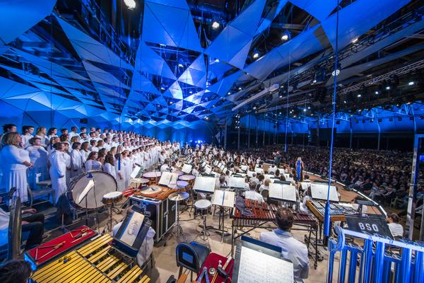 Boston Symphony Orchestra Photo Credit: Chris Lee