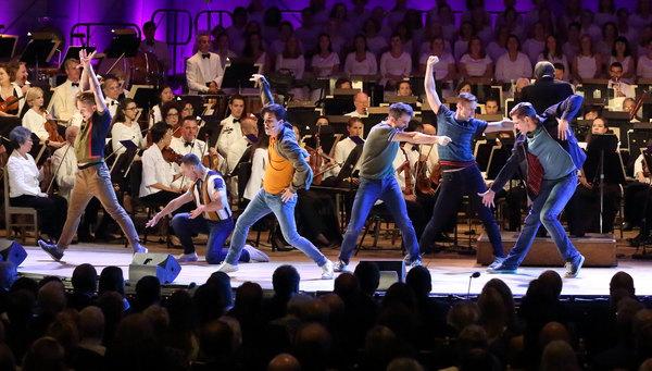 Photo Flash: Inside the Leonard Bernstein Centennial Celebration at Tanglewood