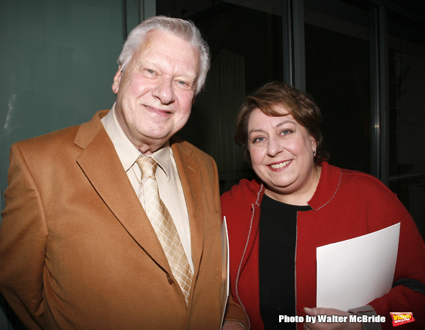 Brian Murray & Jayne Houdyshell attending the 28th Annual Lucille Lortel Awards held at the Penthouse at American Airlines Theatre in New York City.