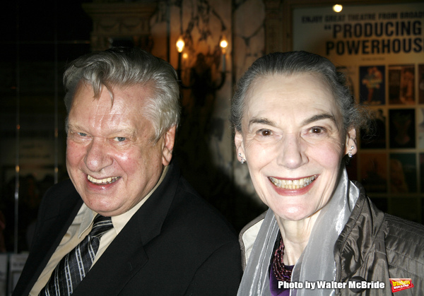 Brian Murray & Marian Seldes arriving for the Opening Night performance for the Round Photo