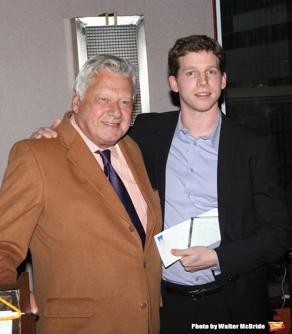 Stark Sands attending the 2008 St. Clair Bayfield Award presented by the Actor's Equity Foundation at the Actor's Equity offices in New York City. January 9, 2009