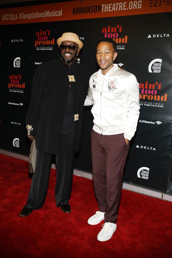 Otis Williams and John Legend Photo