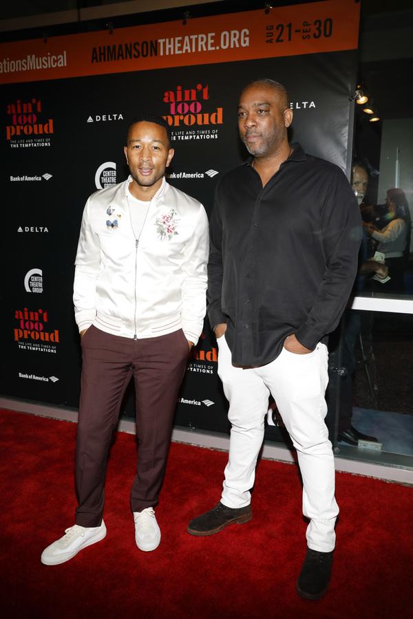 John Legend and Mike Jackson