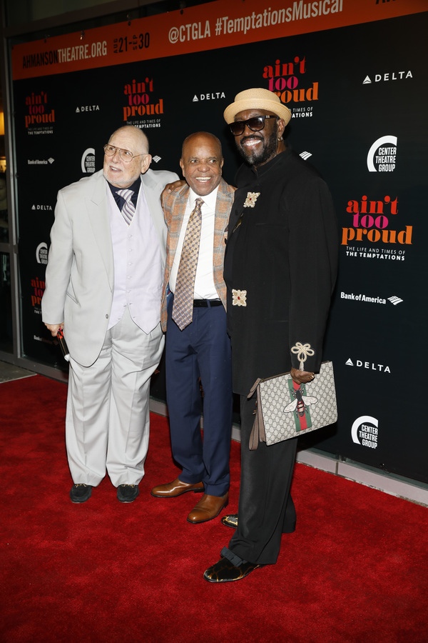 Shelly Berger, Berry Gordy and Otis Williams
