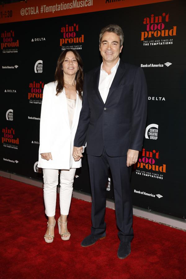 Leslie Urdang and Jon Tenney