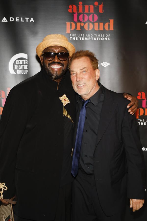 Otis Williams and Des McAnuff