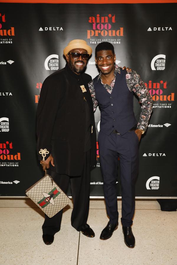 Otis Williams and Jawan M. Jackson Photo