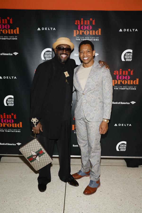 Otis Williams and Derrick Baskin Photo