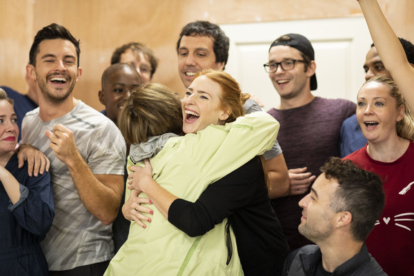 Photo Flash: Inside Rehearsal For COMPANY on the West End