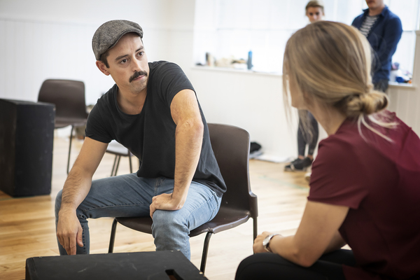 Photo Flash: Inside Rehearsal For THE RETURN OF THE SOLDIER at Hope Mill Theatre
