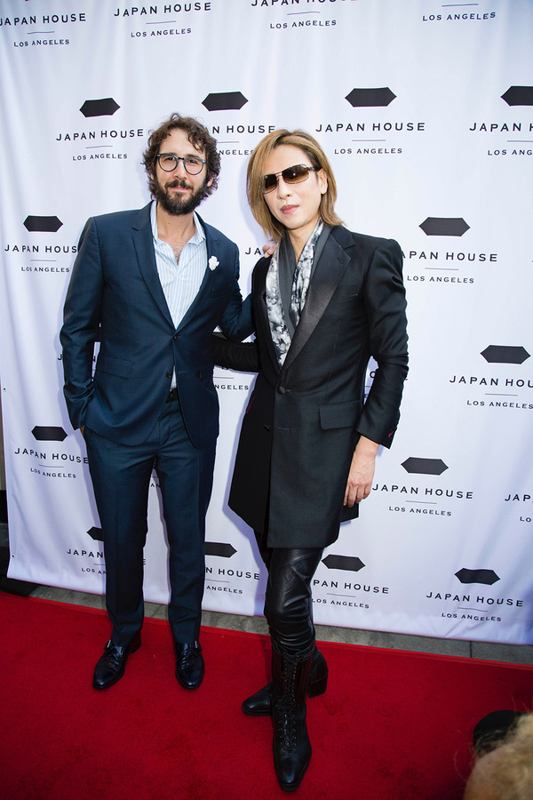 Photo Coverage: Josh Groban, George Takei, and YOSHIKI Attend the Japan House Los Angeles Grand Opening