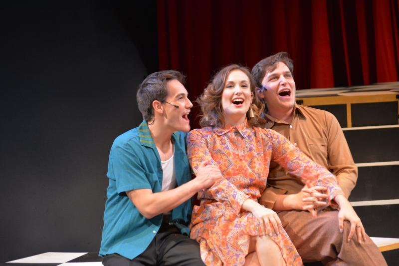 BWW Review: MERRILY WE ROLL ALONG - BACKWARDS, TO UNDERSTAND THE IRONY at The Colony Theatre
