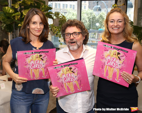 Freeze Frame Mean Girls Company Celebrates Cast Album