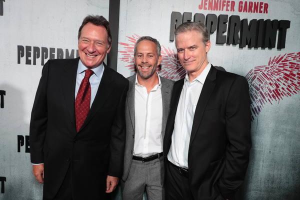 Gary Lucchesi, Eric Reid and Richard Wright Photo