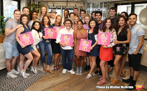 Photo Coverage: Plastics Go Vinyl! MEAN GIRLS Company