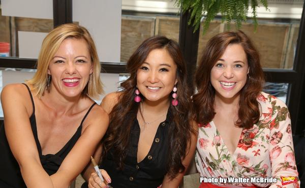 Kate Rockwell, Ashley Park and Erika Henningsen
