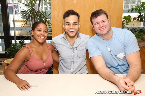 Brittany Nicholas, Iain Young, and Myles McHale
