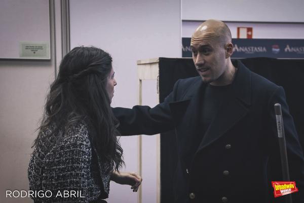 Jana Gomez y Carlos Salgado (Gleb) Photo