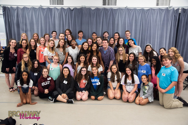 Photo Flash: Stars of MEAN GIRLS, FROZEN, SPONGEBOB and More Stop By Broadway Workshop Summer Intensive