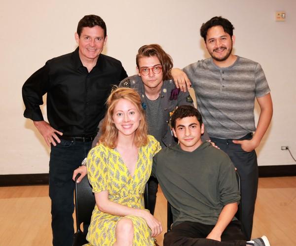 John Roney, Paten Hughes, Patrick Sawiles Caldwell, Tony Macht and Diego Andres Tapia Photo