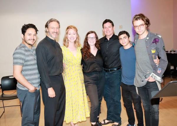 Diego Andres Tapia, George Drance, Paten Hughes, Jenna Wyman, John Roney, Tony Macht  Photo