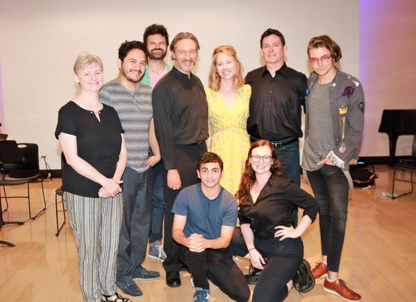 Lauren Yarger, Diego Andres Tapia, Rev. Micah Bucey, George Drance, Paten Hughes, Jenna Wyman, John Roney, Tony Macht and Patrick Sawiles Caldwell