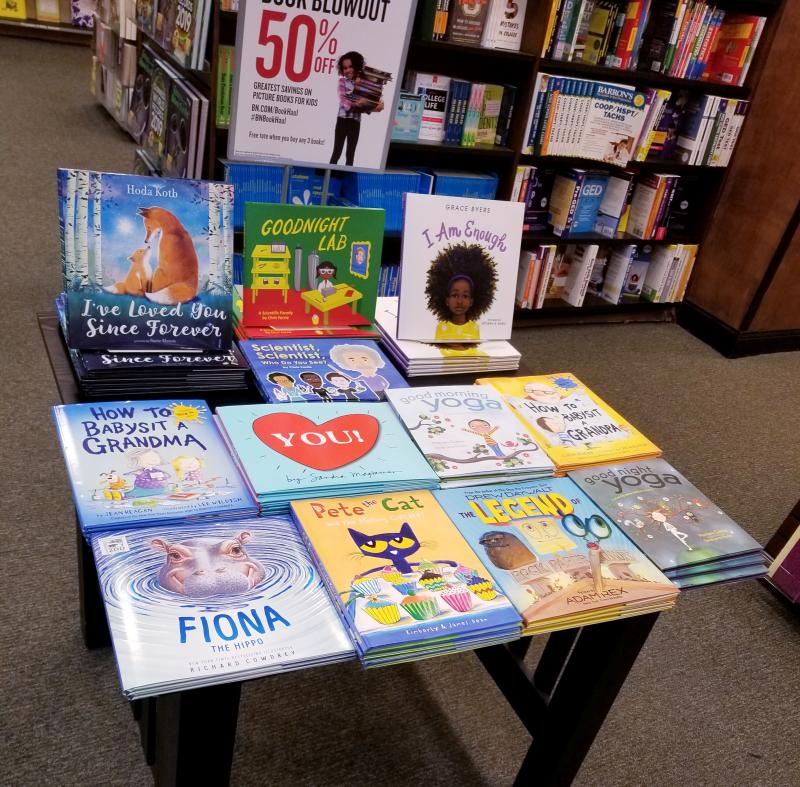 Barnes & Noble Labor Day Book Haul Blowout Sale: Over 100 New and Best Selling Titles 50% Off!