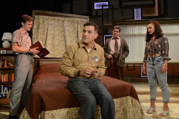 Ed Speleers (Charlie), Mathew Horne (Raymond), Adam Lilley (Dr Marston) & Elizabeth Carter (Susan)