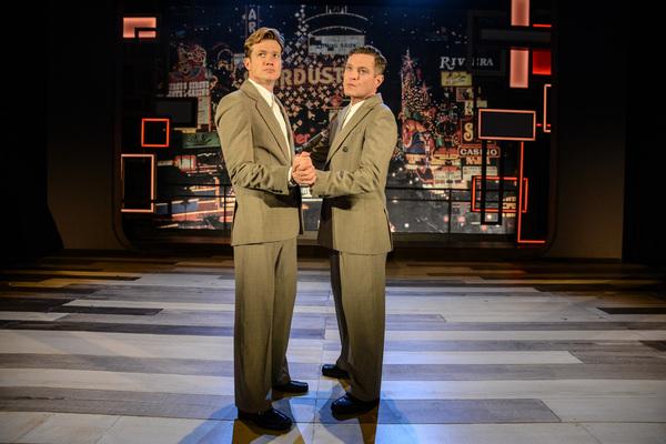 Ed Speleers (Charlie) and Mathew Horne (Raymond)