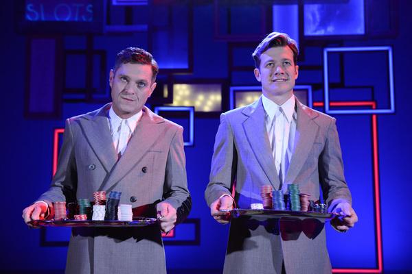 Mathew Horne (Raymond) & Ed Speleers (Charlie)