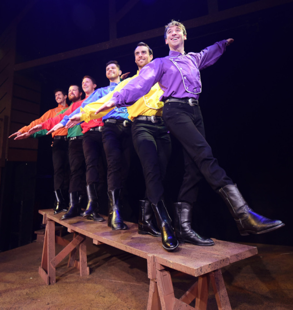 Photo Flash: SEVEN BRIDES FOR SEVEN BROTHERS Opens Tonight at Beef & Boards Dinner Theatre